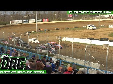 Florence Speedway | 3.25.17 | UMP Modifieds | Heat 3