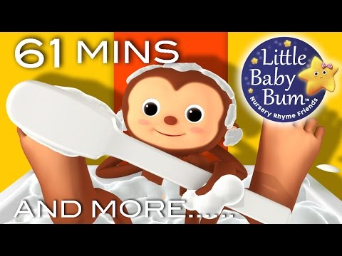 Bath Song | Plus Lots More Nursery Rhymes | From LittleBabyBum!
