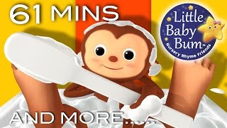 Bath Song | Plus Lots More Nursery Rhymes | 61 Minutes Compilation from LittleBabyBum!
