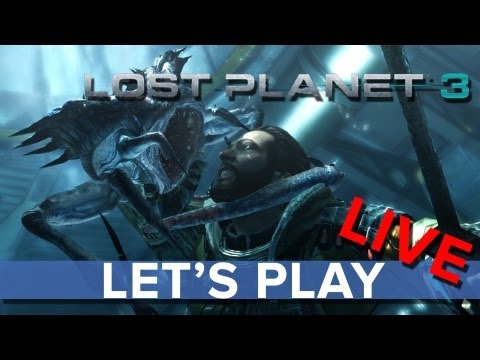 Lost Planet 3 - Let's Play LIVE - Eurogamer