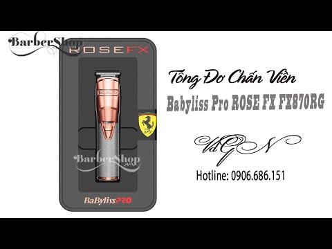 Tông đơ chấn viền Babyliss Pro ROSE FX FX870RG