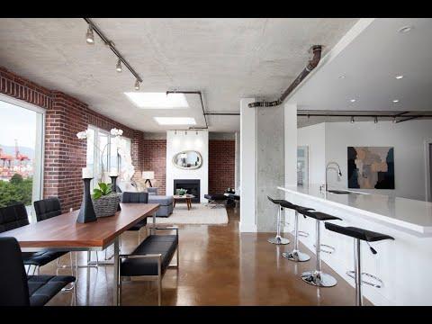 Gastown Vancouver Penthouse - Modern Condo by Albrighton - 27 Alexander Street