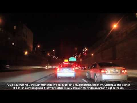I-278: The BQE at Night (Exits 26 to 33)