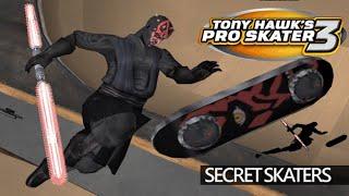 Video Tony Hawk's Pro Skater 3 (PS2) - Secret Skaters download MP3, 3GP, MP4, WEBM, AVI, FLV April 2018