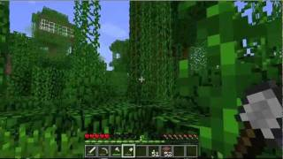 Jungle Biome Treehouse - Minecraft