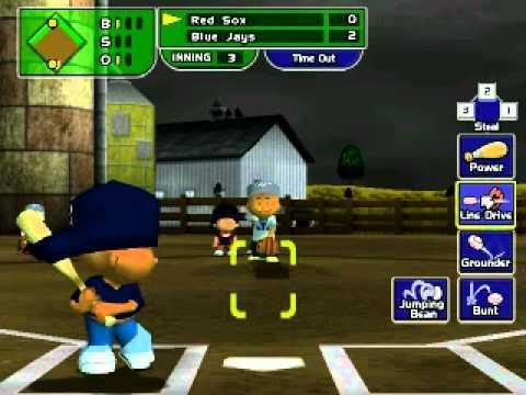 Backyard Baseball 2005 Vs Jays - YouTube