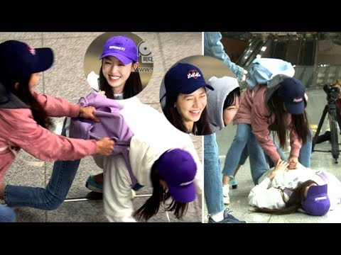 Song Ji Hyo and Lee Da Hee Unexpected Fight That Was Not Broadcasted On Running Man