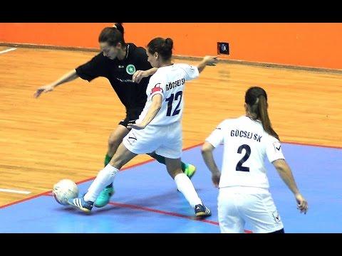 Göcsej SK Sport 36 - Árkád ETO NB I női futsalmérkőzés 1fel 17.01.25 (szerda) 19:00