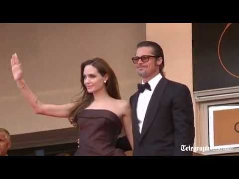Stars Brad Pitt and Angelina Jolie dazzle at Cannes Film Festival Tree Of Life premiere