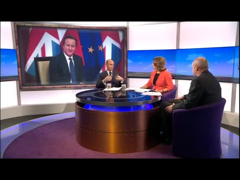 Discussing COP21 and Brexit with Jo Coburn on Daily Politics