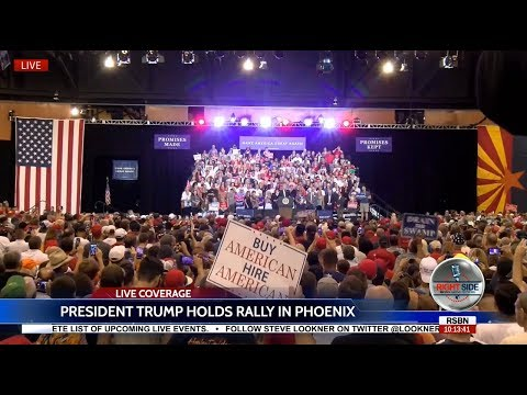 FULL EVENT: President Donald Trump EXPLOSIVE Speech at MASSIVE Rally in Phoenix, AZ 8/22/17