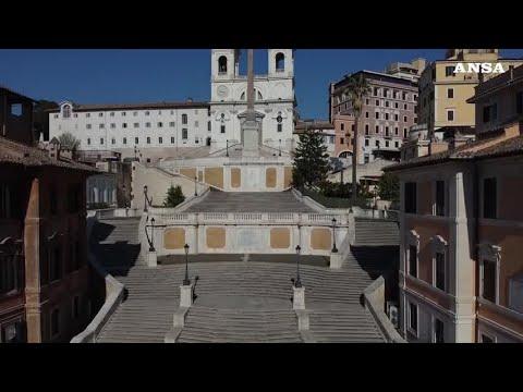 Coronavirus, Roma come non l'avete mai vista