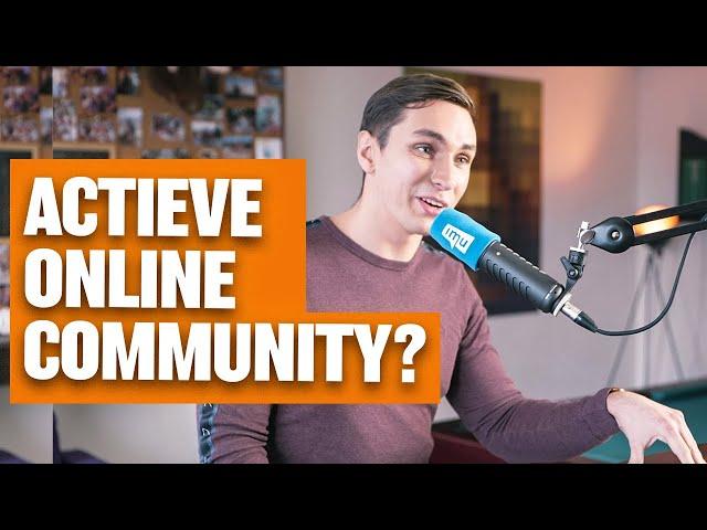 Actieve online community: hoe krijg ik mijn leden in beweging?