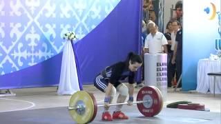 Маргарита Елисеева - выступление на турнире Храпатого 2014 в Алма-Ате