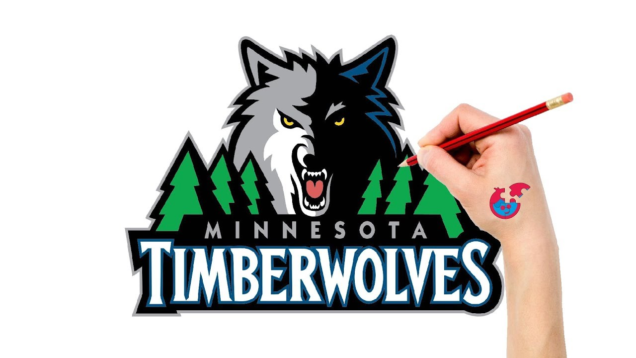 Fast Drawing And Coloring For Toddlers Nba Minnesota