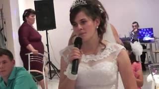 свадьба невеста слова для папы