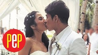 WATCH: Maxene Magalona and Robby Mananquil recite wedding vows