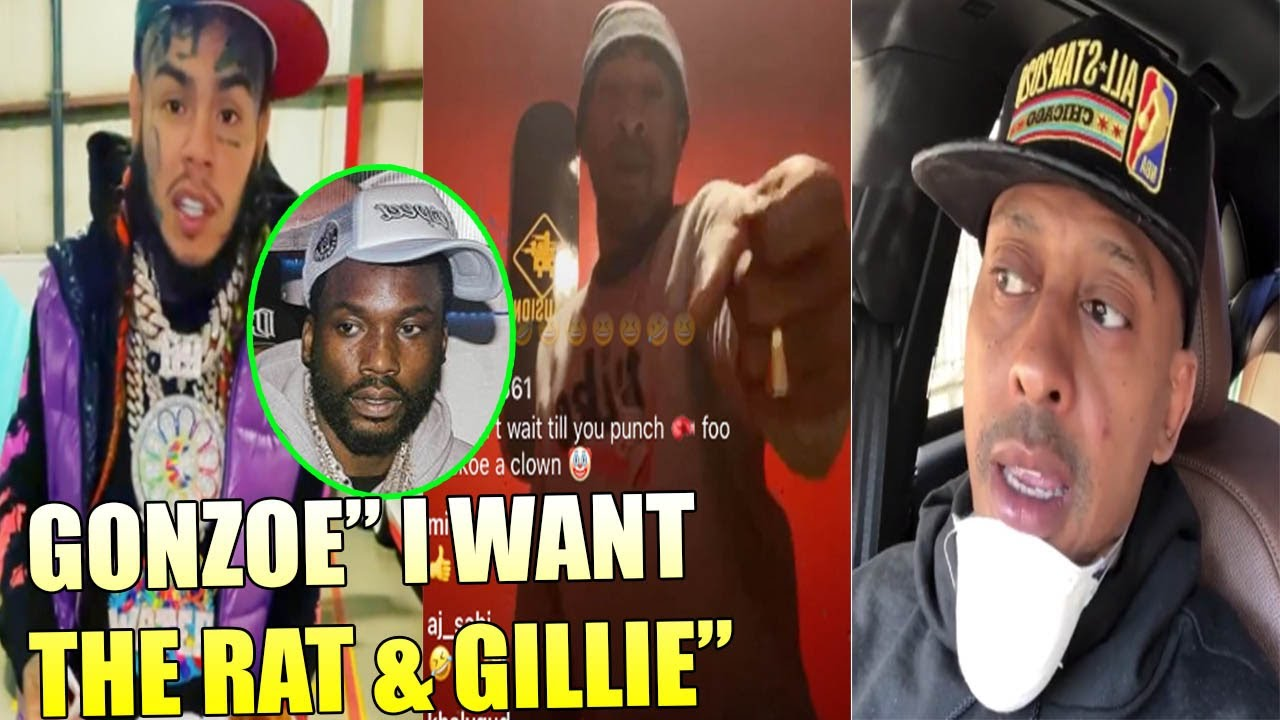 Rapper Gonzoe wants to F🥊GHT 6ix9ine & Gillie Da Kid 1 ON 1