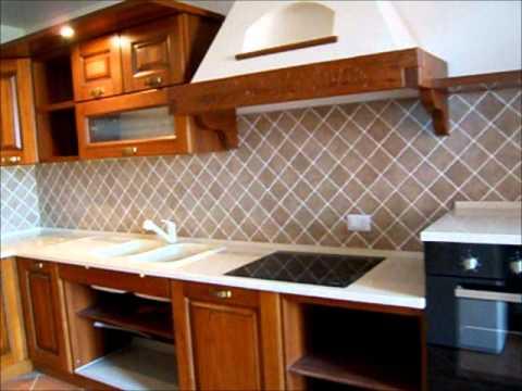 Cucina in rustica con top quarzo youtube - Top cucina quarzite ...