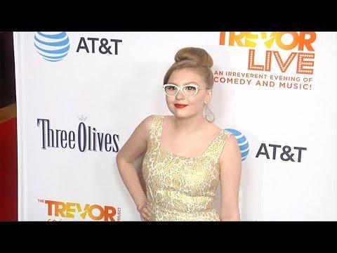 """Bebe Wood """"TrevorLIVE Los Angeles 2016"""" Red Carpet"""