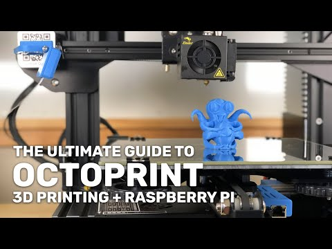 OctoPrint: Control Your 3D Printer Remotely Using A Raspberry Pi!