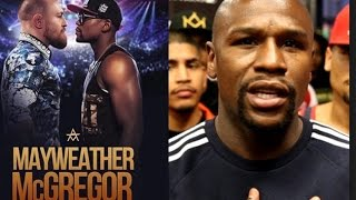 Floyd Mayweather Clowns Conor Mcgregor For Thinking He Deserves The Same Payout If They Fight!