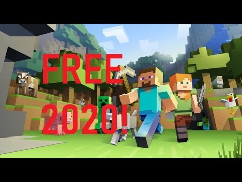 MINECRAFT FOR FREE 2020!! **WORKING**