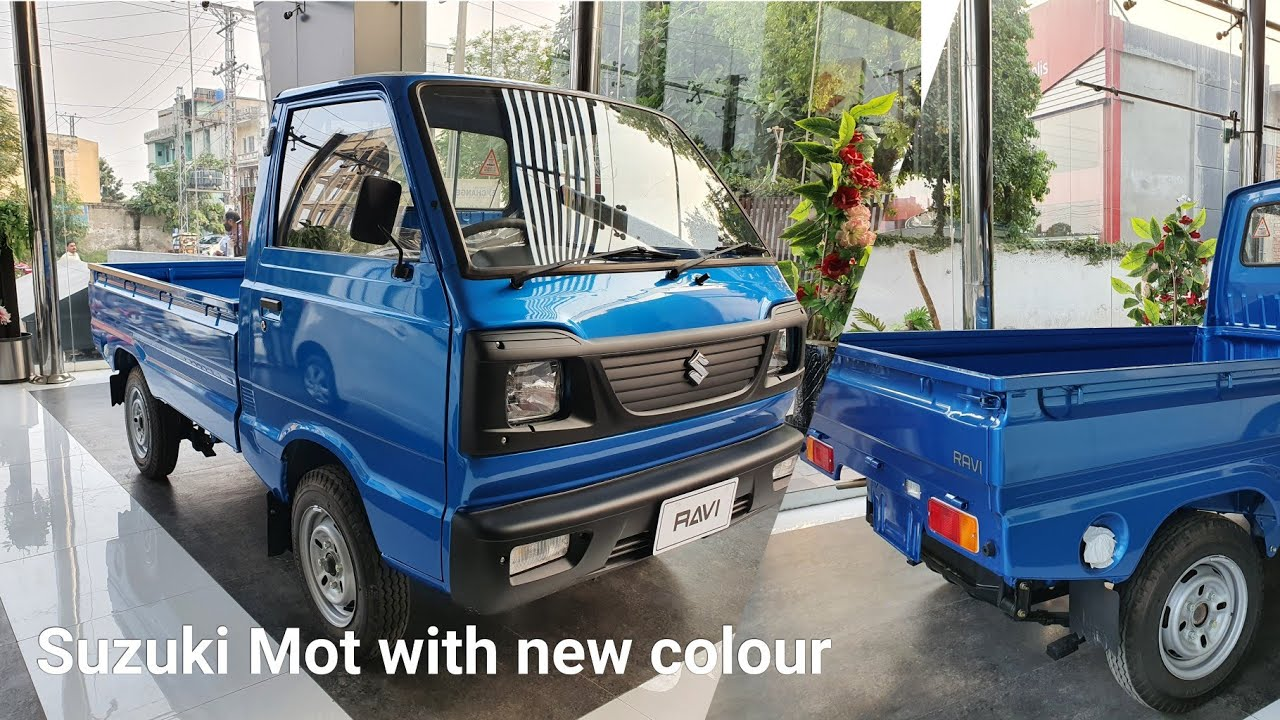 Suzuki Launch 2021 Model Ravi Pickup With New colour Funny Walk-around ? ?