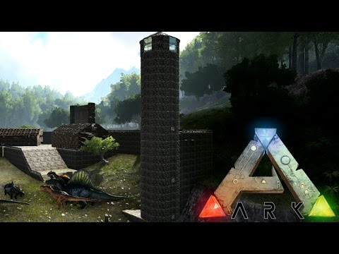 [19] Building The Watchtower | ARK: Survival Evolved