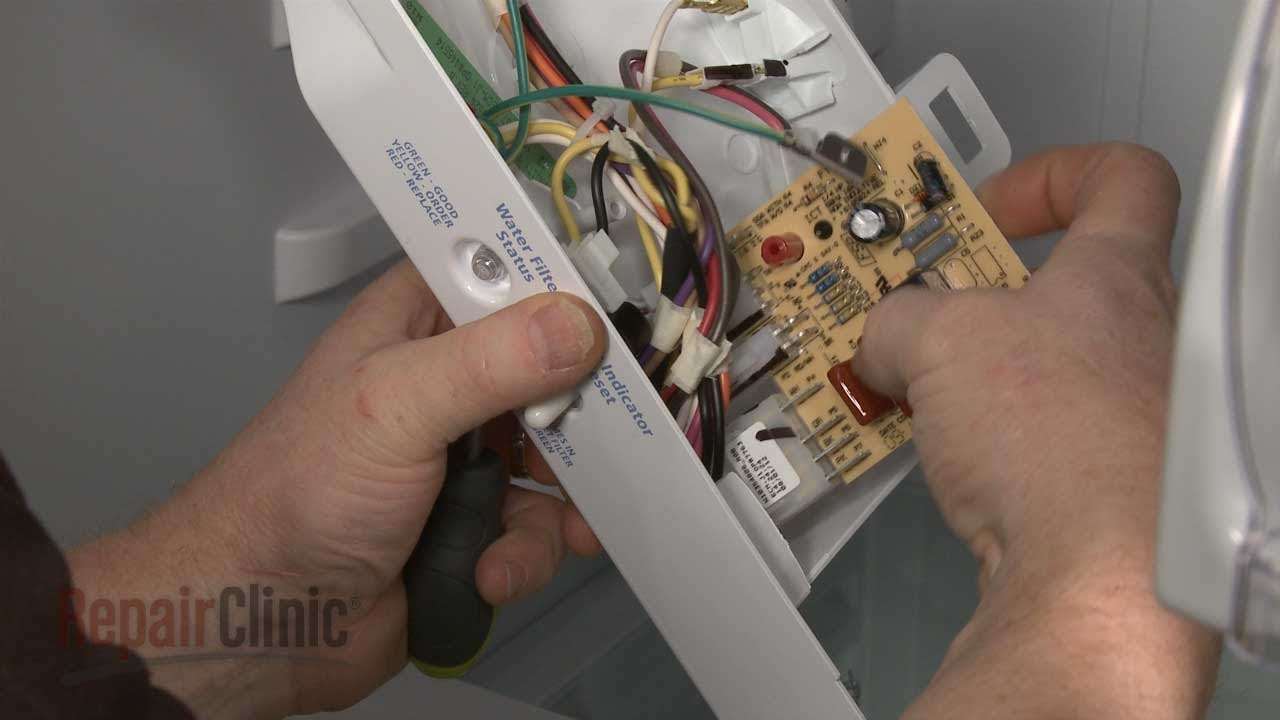 small resolution of whirlpool refrigerator replace defrost control board w10366605 youtube