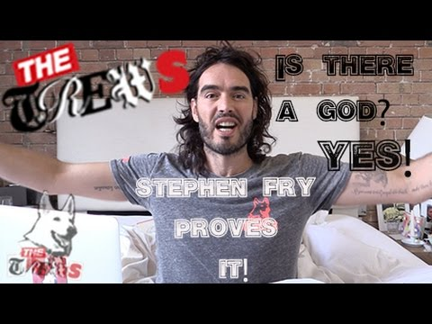 Is There A God? YES! Stephen Fry Proves It: Russell Brand The Trews (E247)