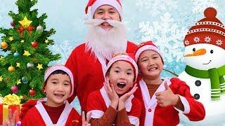 We Wish You A Merry Christmas  | SHK Nursery Rhymes & Kids Songs