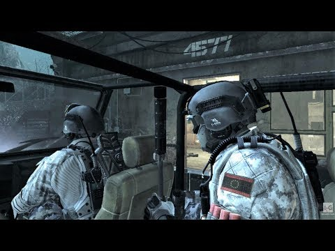 Infiltrating the Secret Federation Facility - Clockwork - Call of Duty: Ghosts