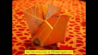 3d Origami Turkey