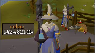 Rushing Pkers in a 1,424,000,000gp setup