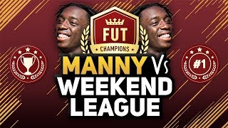 MANNY VS THE WEEKEND LEAGUE #1