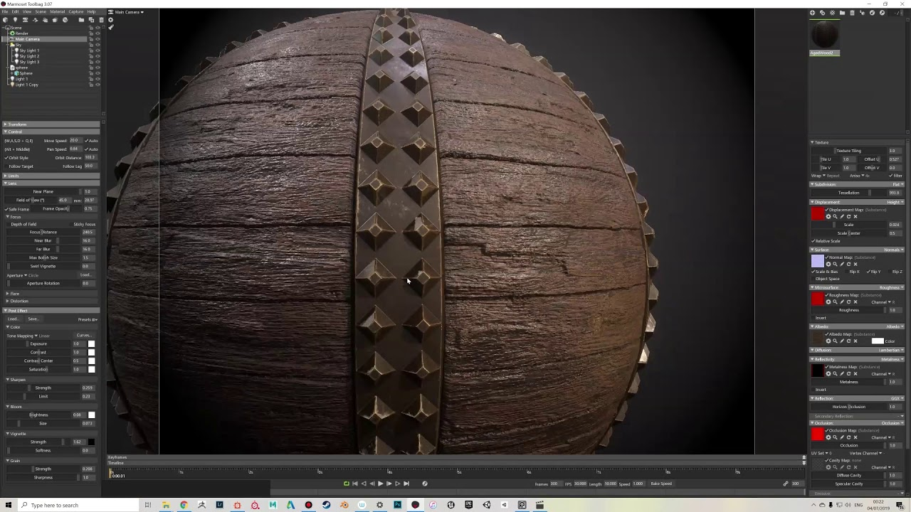 Aged Wood Substance Designer Tutorial