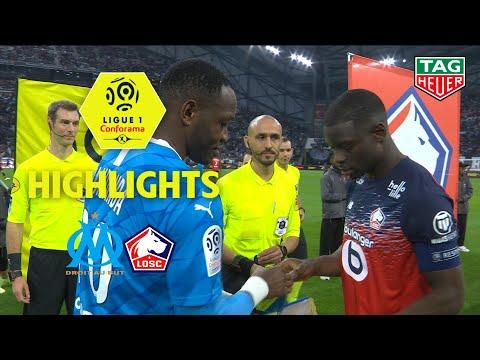 Olympique De Marseille - LOSC ( 2-1 ) - Highlights - (OM - LOSC) / 2019-20