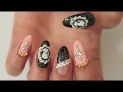 ☆ Gothic Lolita Nails ☆