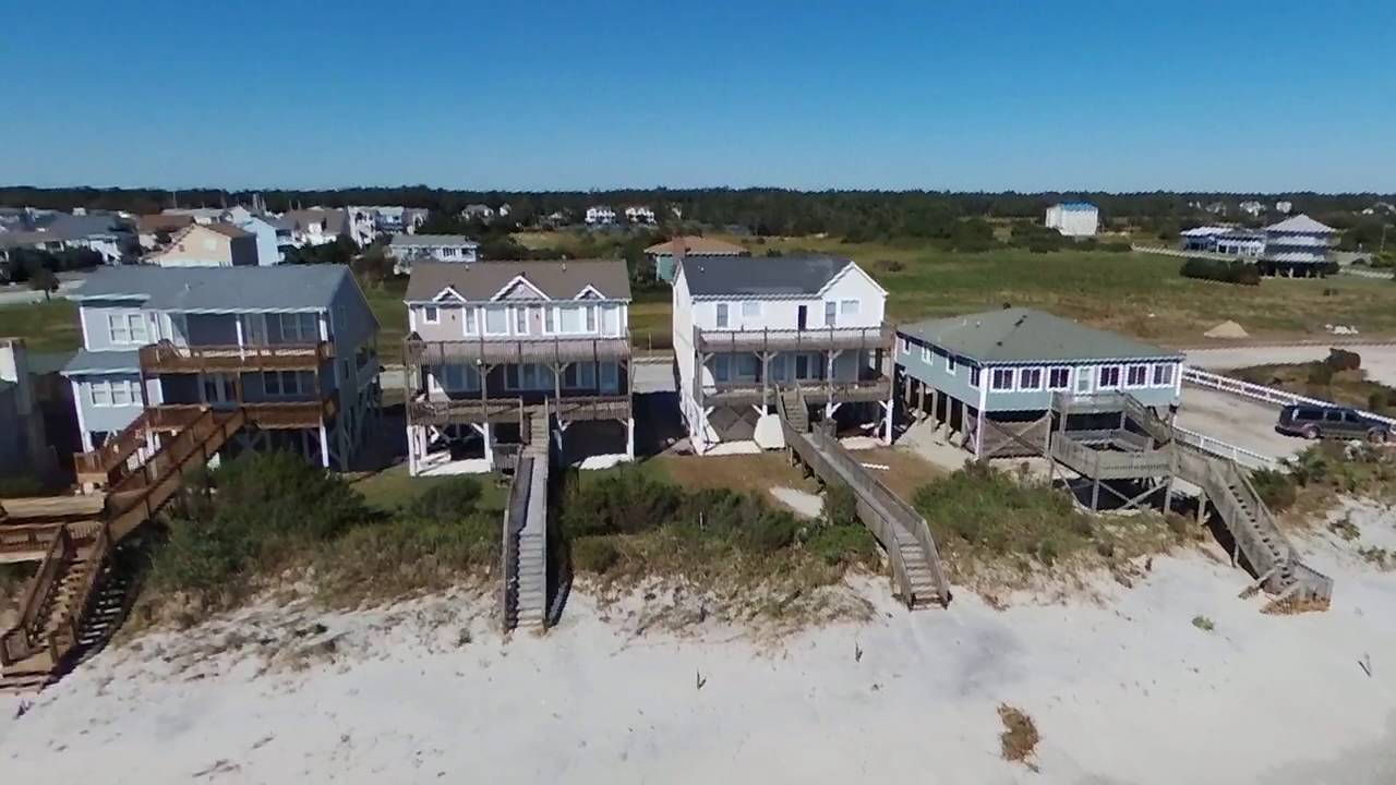 Holden Beach Oceanfront From East End To The Bridge