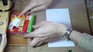 Fabrica Bombas Ninja tutorial How to make impact flash bomb