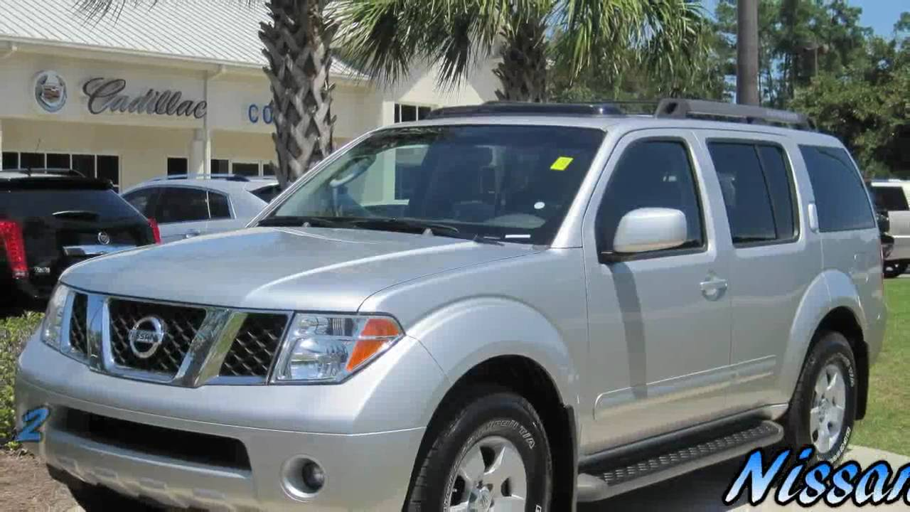 Pathfinder Nissan Se Silver Chrome Grill 3rd Row Suv