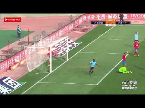 Henrique Dourado estreia com gol na China pelo Henan jianye