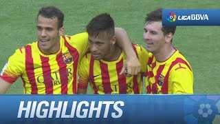 Resumen de FC Barcelona (2-0) Athletic Club - HD