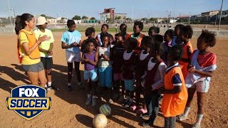 Grassroot Soccer uses the game to help girls in Africa understand difficult topics