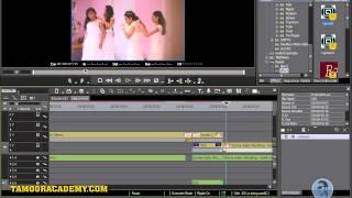How to make a wedding movie runing song in edius urdu tutorials