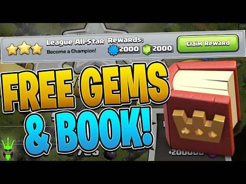2,000 FREE GEMS AND FREE BOOK OF HEROES JUST BY FARMING!! - Fix That Rush - Clash Of Clans