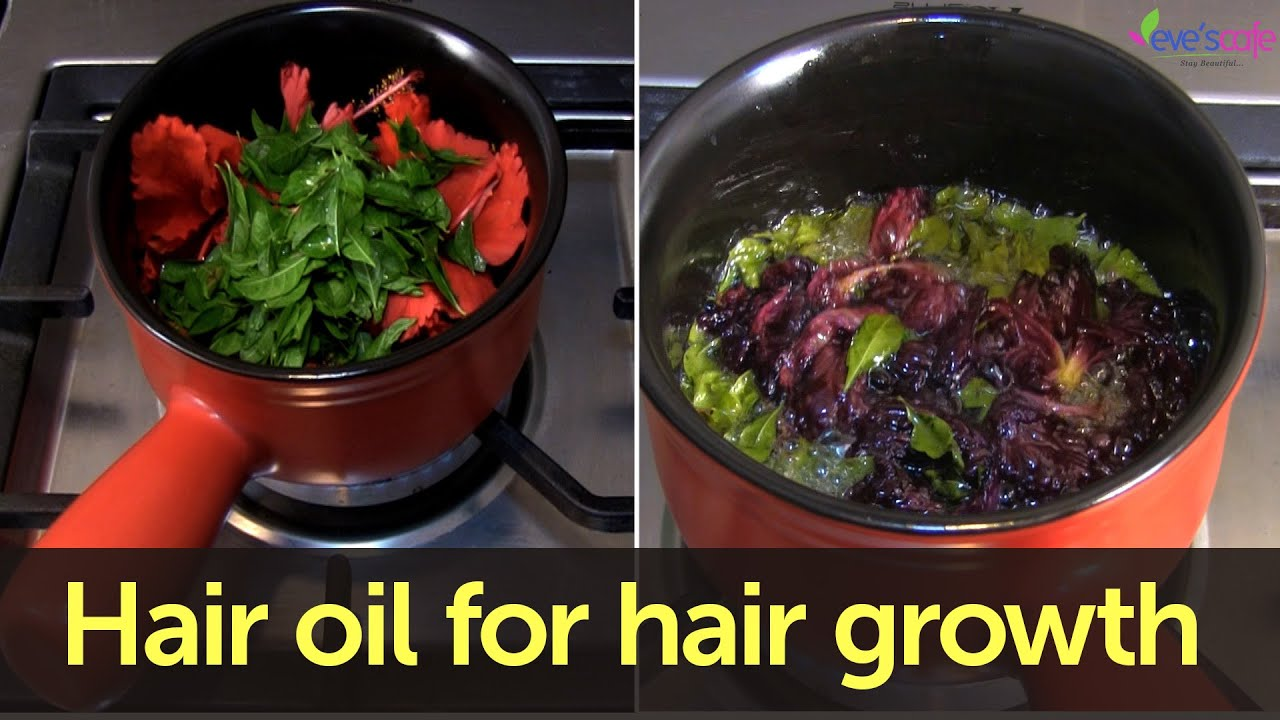 Hair oil preparation for hair darkening and hair growth youtube izmirmasajfo