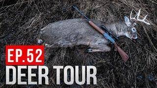 DEER DRIVE BUCK! Gun Hunting Public Land with DAN INFALT - DEER TOUR E52