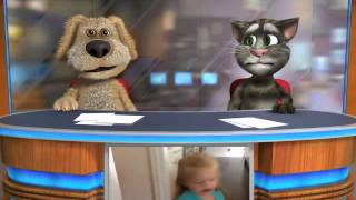 Talking Tom & Ben gangnamstyle